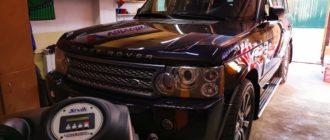 Подготовка Range Rover III к замене масла в АКПП