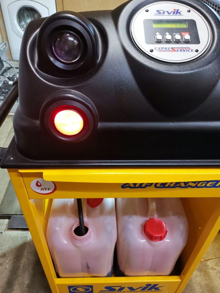 Процесс замены масла в АКПП Ford Explorer V