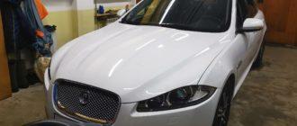 Подготовка Jaguar XF к замене масла в АКПП