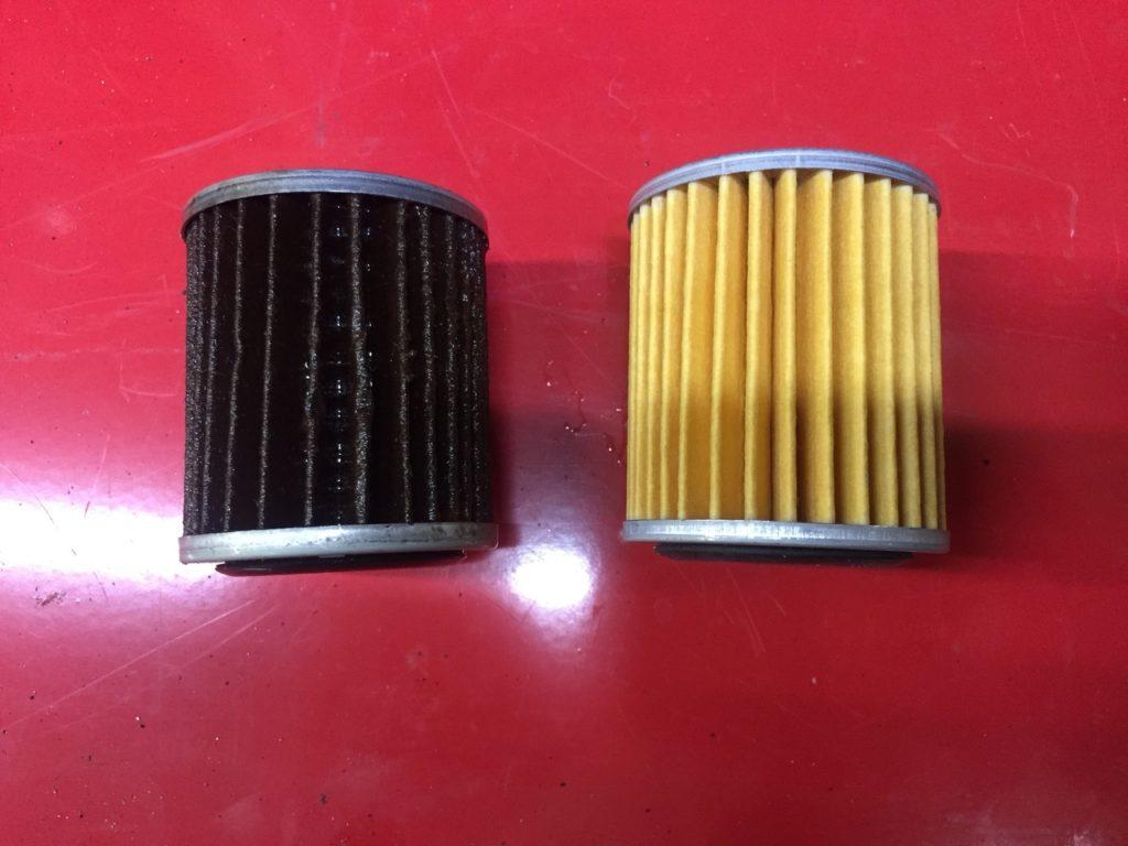 замена фильтра тонкой очистки в вариаторе Nissan-Teana